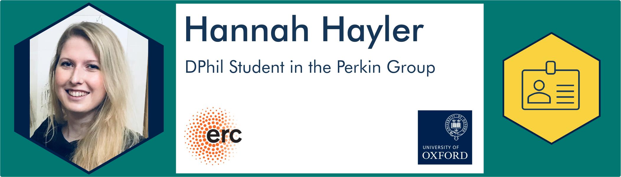 Hannah Hayler further info