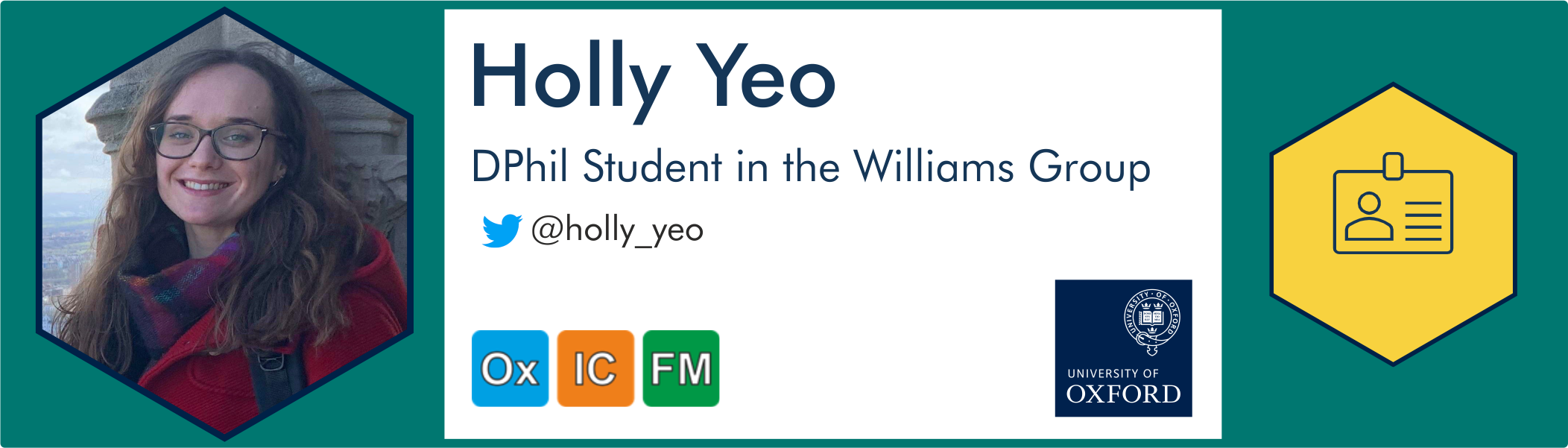 Holly Yeo further information