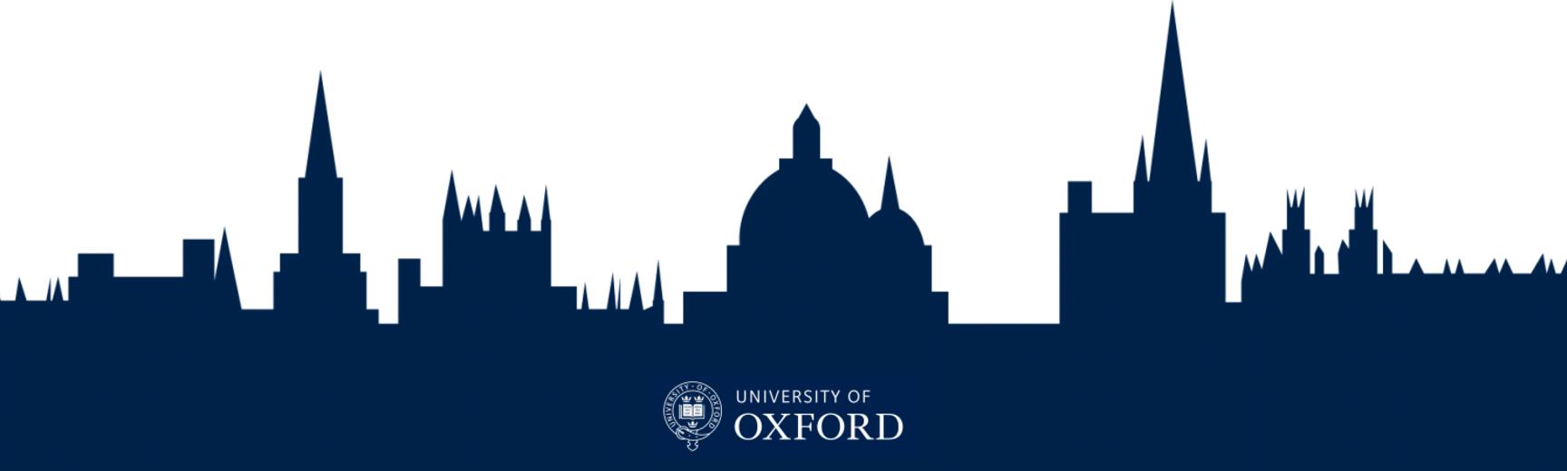 Oxford skyline banner