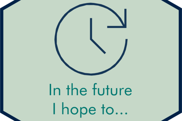 In the future, I hope to