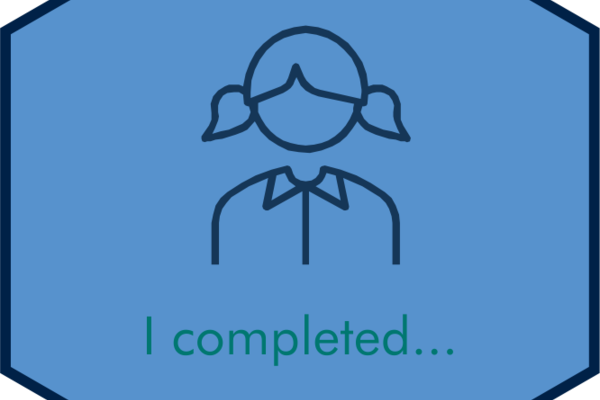 I completed
