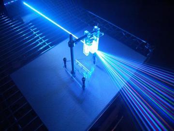 laser diffraction grating