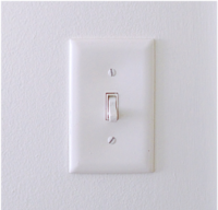 Image of a light switch